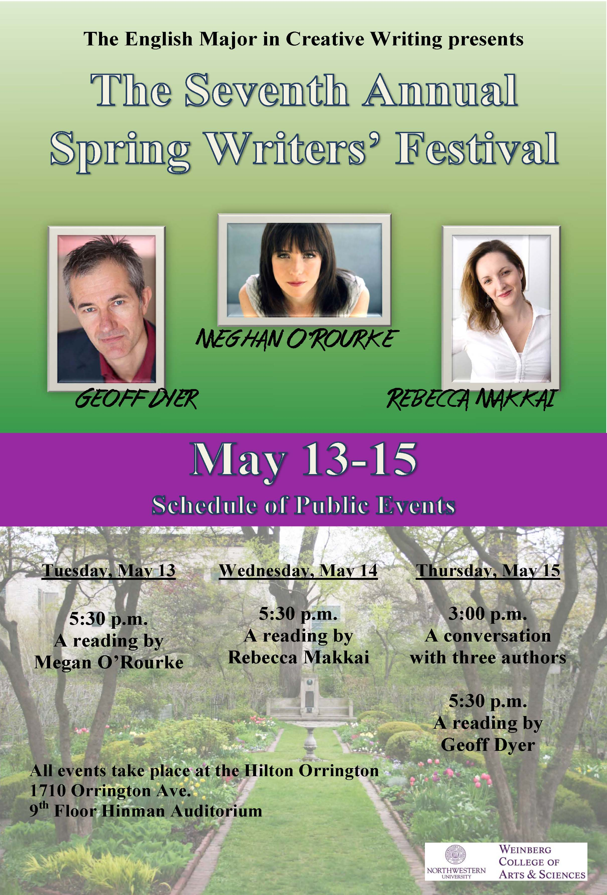 2014 Writers Festival