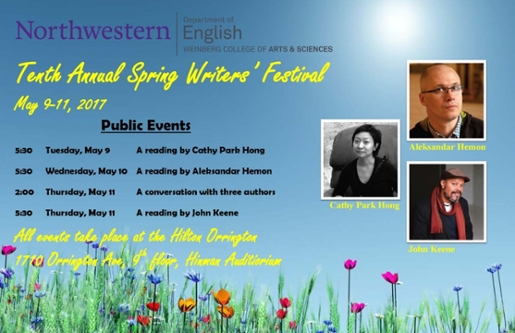 2017 Writers Festival